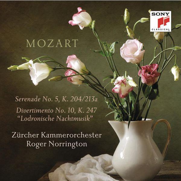 Roger Norrington - Mozart: Serenade K. 204 & Divertimento K. 247