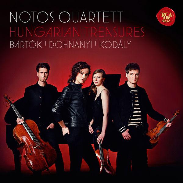 Notos Quartett - Hungarian Treasures (Bartók, Dohnányi, Kodály)