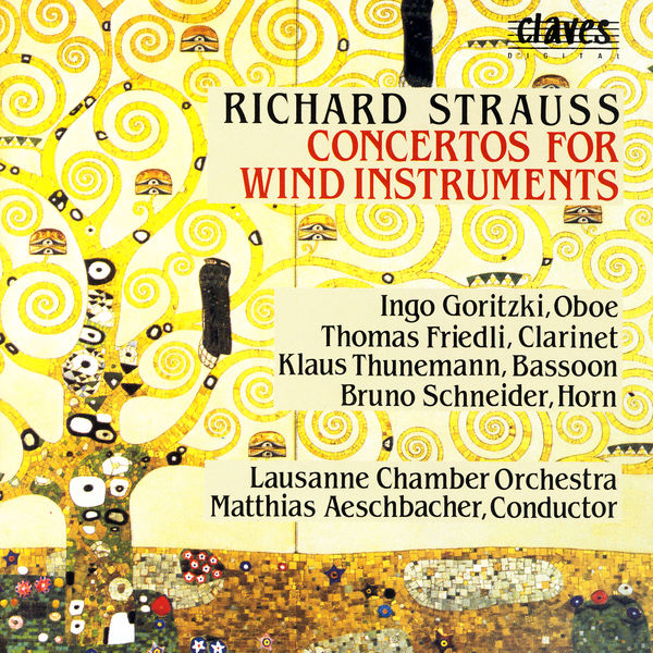 Various Artists - Richard Strauss/ Concertos For Wind Instruments