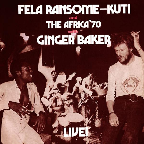 Fela Kuti - Fela With Ginger Baker Live!