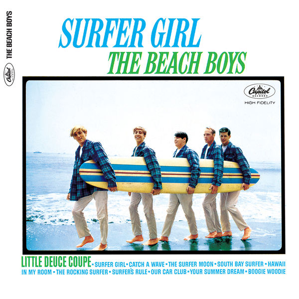 The Beach Boys - Surfer Girl (Stereo Version)