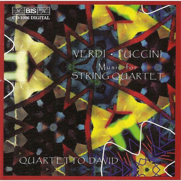 David Quartet - VERDI / PUCCINI: Music for String Quartet