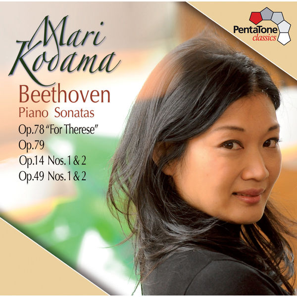 Mari Kodama - Beethoven: Piano Sonatas Opp. 78, 79, 14, 49