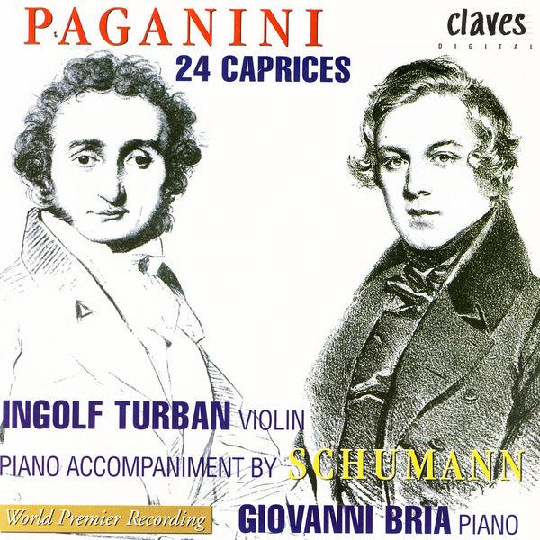 Ingolf Turban Niccolò Paganini: 24 Caprices, Op. 1