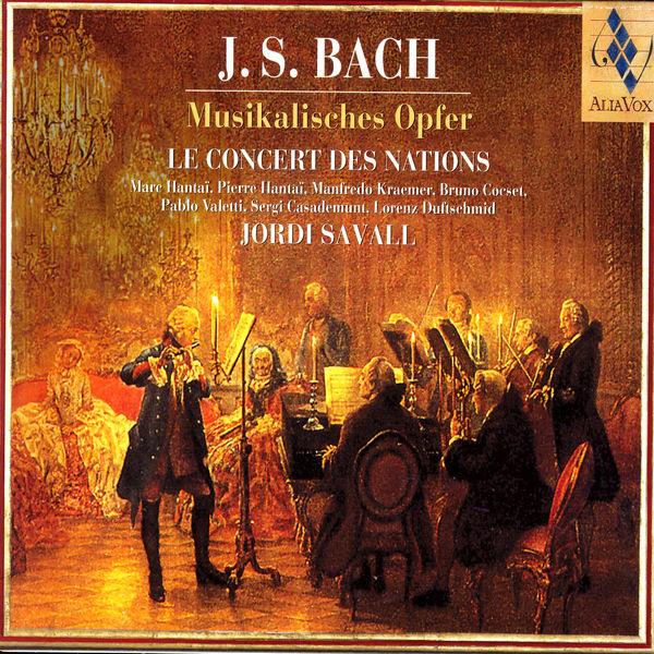 Jordi Savall - Bach : Musikalisches Opfer (L'Offrande Musicale)