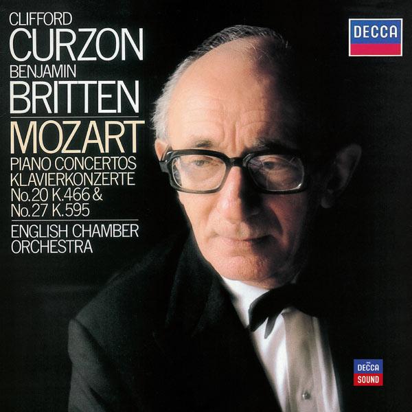 Clifford Curzon - Mozart: Piano Concertos Nos. 20 in D minor & 27 in B flat