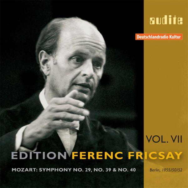 Ferenc Fricsay Edition Ferenc Fricsay, Vol. 7 (1950, 1952, 1955) (Wolfgang Amadeus Mozart)