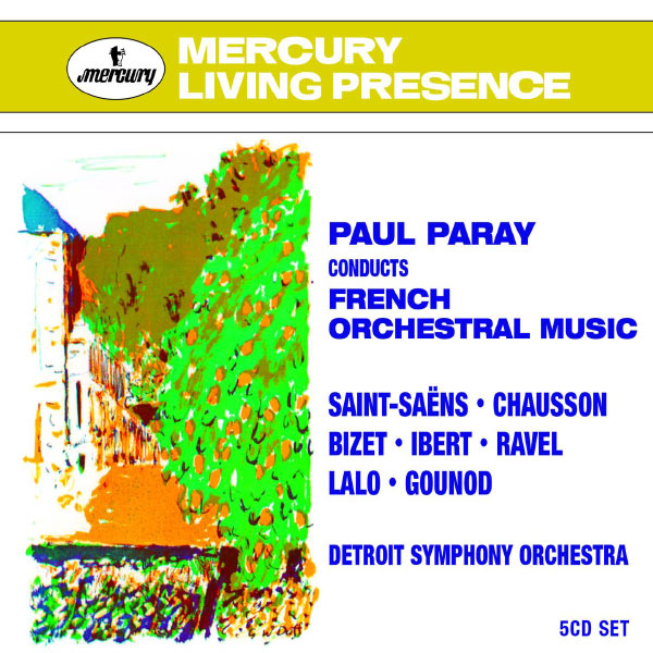 Paul Paray - Paul Paray conducts French Orchestral Music