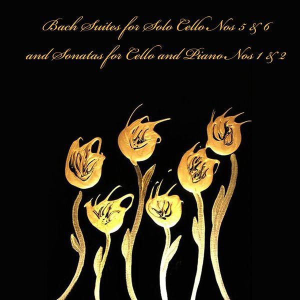 Janos Starker - Bach: Suites for Solo Cello, Nos 5 & 6 - Sonatas for Cello and Piano, Nos 1 & 2