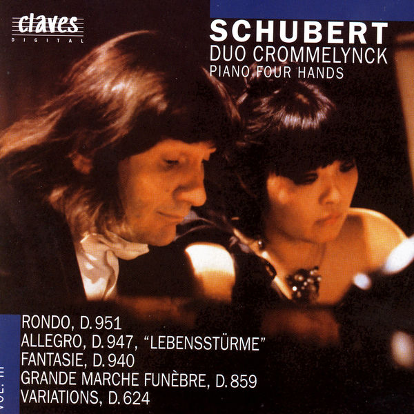 Franz Schubert|Pièces pour piano à 4 mains (Volume III)