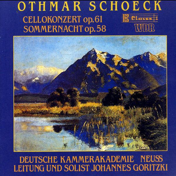 Johannes Goritzki - Concerto pour violoncelle
