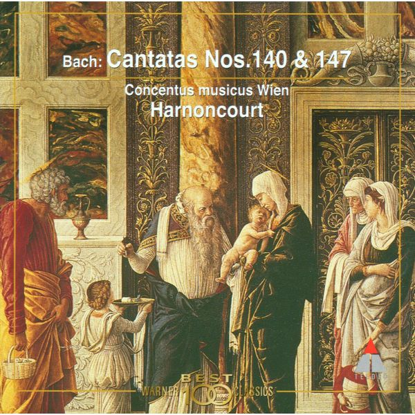 Nikolaus Harnoncourt - Bach, JS : Sacred Cantatas BWV Nos 140 & 147
