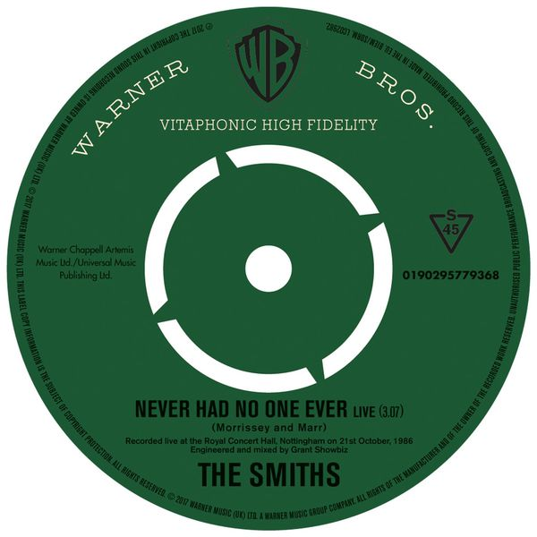 The Smiths - Never Had No One Ever (Live)