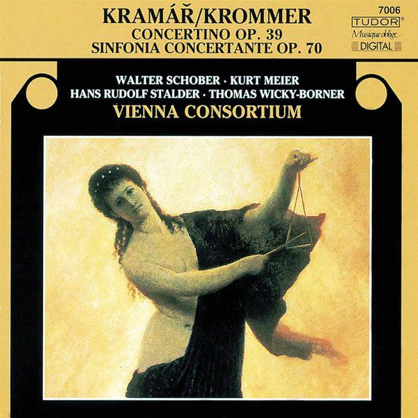 Vienna Consortium - KROMMER, F.: Sinfonia Concertante, Op. 70 / Concertino, Op. 39 (Vienna Consortium, Wicky-Borner)