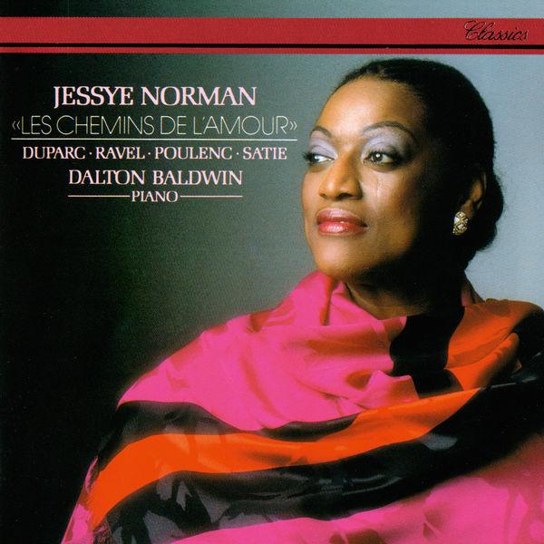 Jessye Norman - Les chemins de l'amour - Songs By Duparc, Ravel, Poulenc & Satie