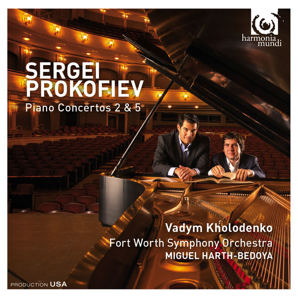 Vadym Kholodenko - Prokofiev : Piano Concertos 2 & 5