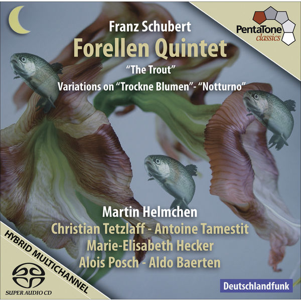 "Christian Tetzlaff - Schubert, F.: Piano Quintet, ""The Trout"" / Introduction and Variations On Trockne Blumen / Notturno"