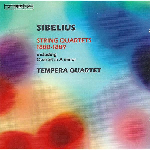 Tempera Quartet - SIBELIUS: String Quartets 1888-1889
