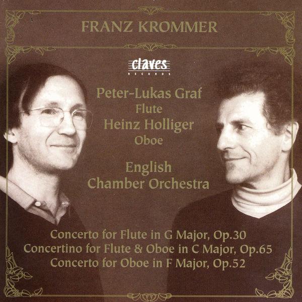 Peter-Lukas Graf - Franz Krommer: Flute & Oboe Concertos