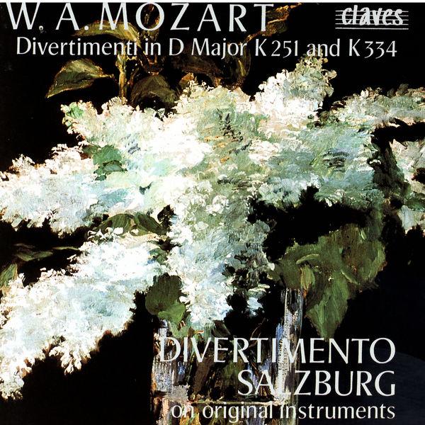 Wolfgang Amadeus Mozart - Divertimenti - Marche