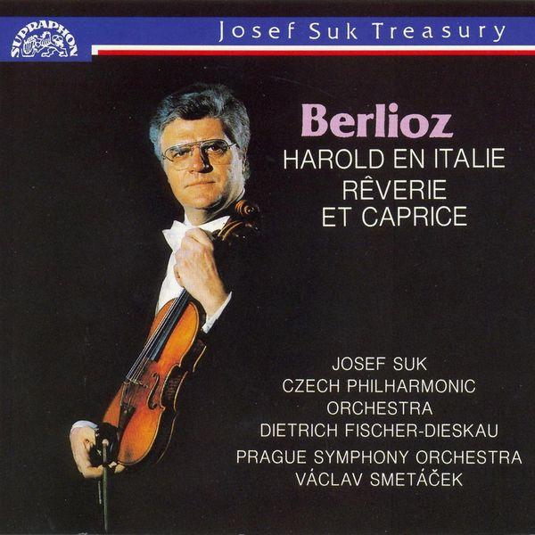 Josef Suk, Dietrich Fischer-Dieskau, Václav Smetáček, Czech Philharmonic, Prague Symphony Orchestra - Berlioz: Harold En Italie, Reverie Et Capricie