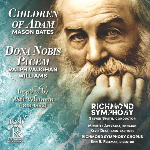 Richmond Symphony - Mason Bates: Children of Adam - Vaughan Williams: Dona nobis pacem (Live)