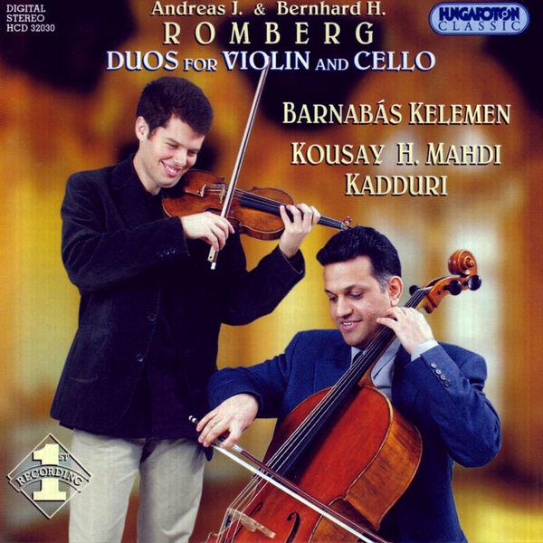 Barnabás Kelemen - Romberg, A. / Romberg, B.: Duos for Violin and Cello