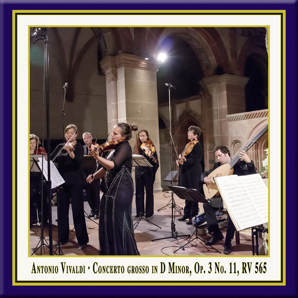 Birgit Schnurpfeil - Vivaldi: Concerto grosso in D Minor, Op. 3, No. 11, RV 565 (Live)