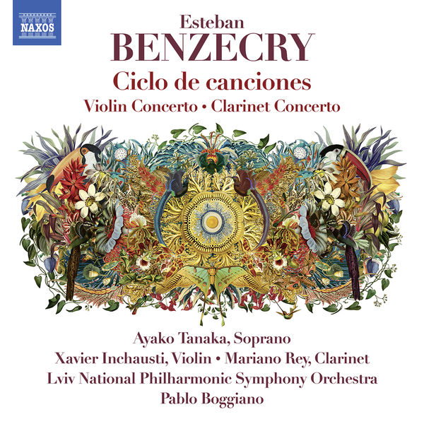 Fernanda Victoria Caputí Monteverdi - Esteban Benzecry: Orchestral Works