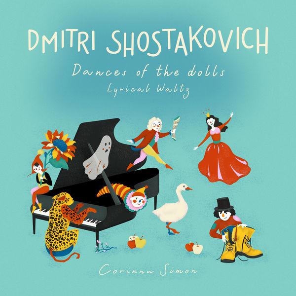 Corinna Simon - Dances of the Dolls, 7 pieces for Piano: I. Lyrical Waltz