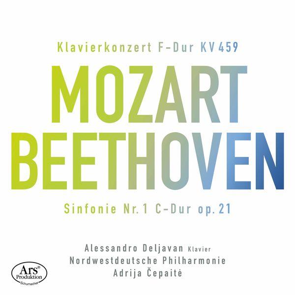Alessandro Deljavan - Mozart: Piano Concerto No. 19 in F Major, K. 459 - Beethoven: Symphony No. 1 in C Major, Op. 21