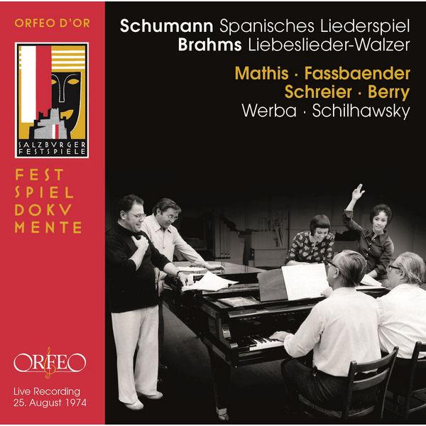 Edith Mathis - Schumann : Spanisches Liederspiel - Brahms : 18 Liebeslieder Waltzes (Live)