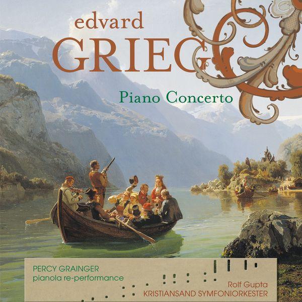 Arthur de Greef - GRIEG Piano Concerto (solo piano bonus tracks )