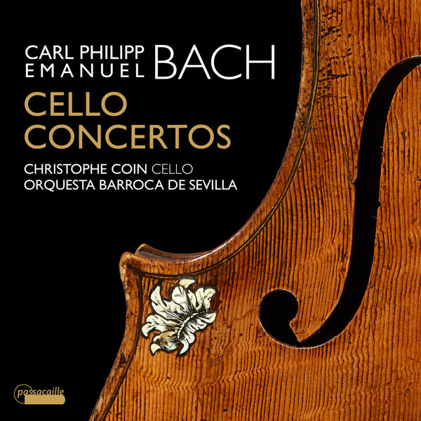 Christophe Coin - C.P.E. Bach: Cello Concertos - Christophe Coin