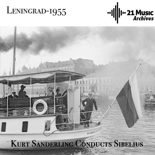 Kurt Sanderling, Leningrad Philharmonic Orchestra - Kurt Sanderling Conducts Sibelius (Leningrad, 1955)
