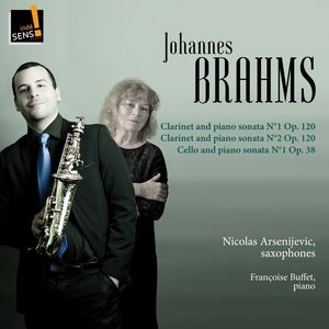 Brahms: Clarinet and Piano Sonata & Cello and Piano Sonata