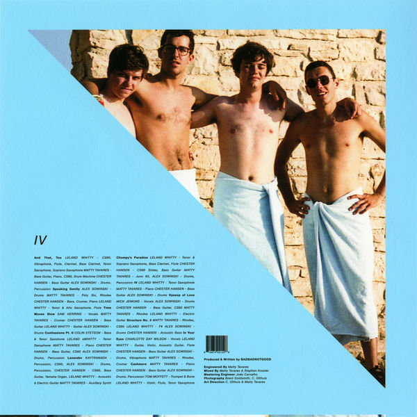 Badbadnotgood - Time Moves Slow (Feat. Samuel T. Herring) / Speaking Gently