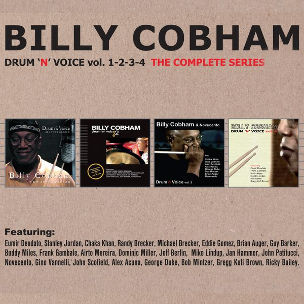 Billy Cobham|Drum'n Voice, Vols. 1, 2, 3 & 4 (The Complete Series)