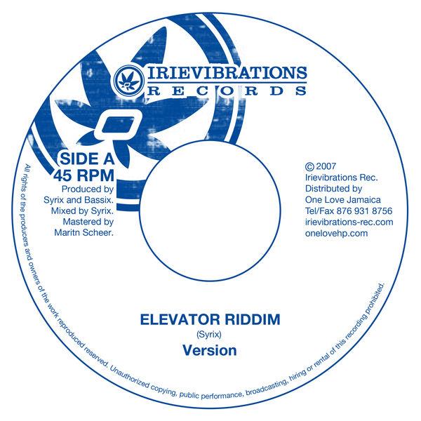 Various Artists - Irievibrations: Elevator Riddim Selection