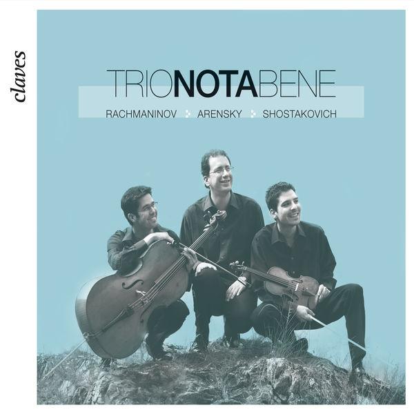 Trio Nota Bene - Album russe