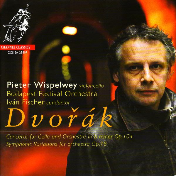 """Pieter Wispelwey - Dvorák: Concerto for Cello & Orchestra in B-Minor & Symphonic Variations for Orchestra on """"I Am Fiddler"""""""