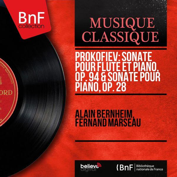 Alain Bernheim - Prokofiev: Sonate pour flûte et piano, Op. 94 & Sonate pour piano, Op. 28 (Mono Version)