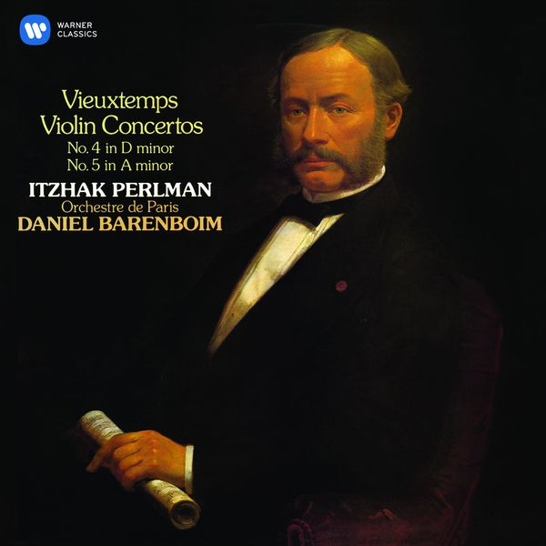 Itzhak Perlman - Vieuxtemps: Violin Concertos Nos 4 & 5