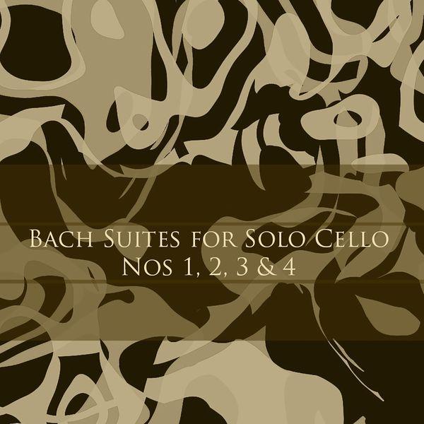 Janos Starker - Bach: Suites for Solo Cello, Nos 1, 2, 3 & 4