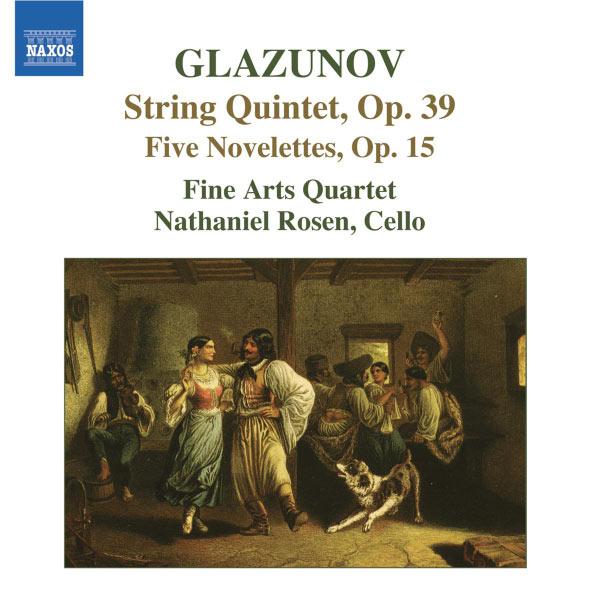 Fine Arts Quartet - Quintette à cordes - 5 Novelettes