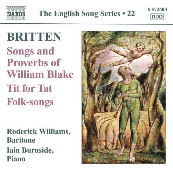 Roderick Williams - The English Song Series (Volume 22)