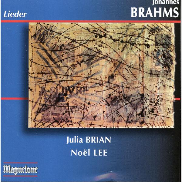 Noël Lee - Brahms: Lieder