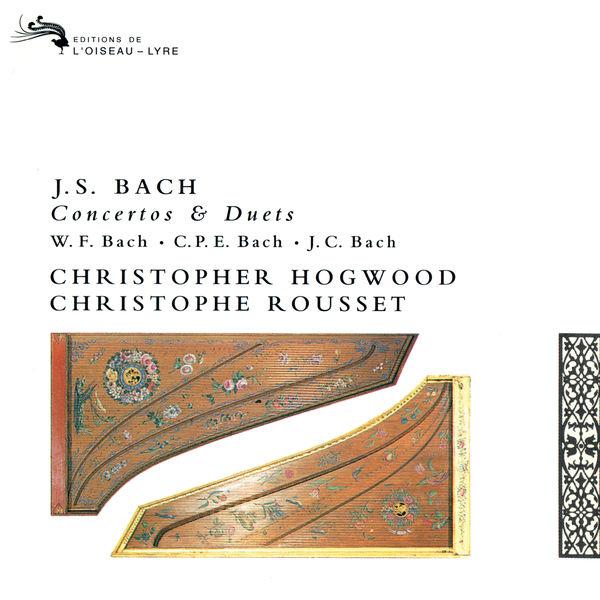 Christophe Rousset - Bach, J.S., W.F., C.P.E & J.C.: Works for Two Harpsichords