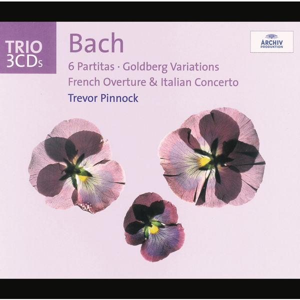 Trevor Pinnock - Bach: Oeuvres pour clavier-Partitas-Variations goldberg-Ouverture francaise etc.