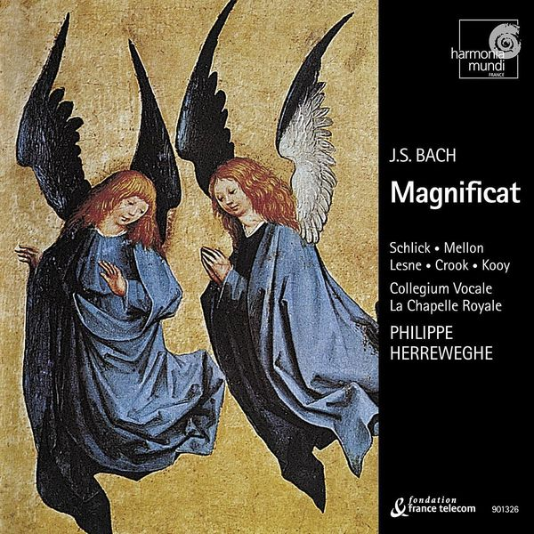 La Chapelle Royale, Collegium Vocale Gent, Philippe Herreweghe - J.S. Bach: Magnificat, BWV 243